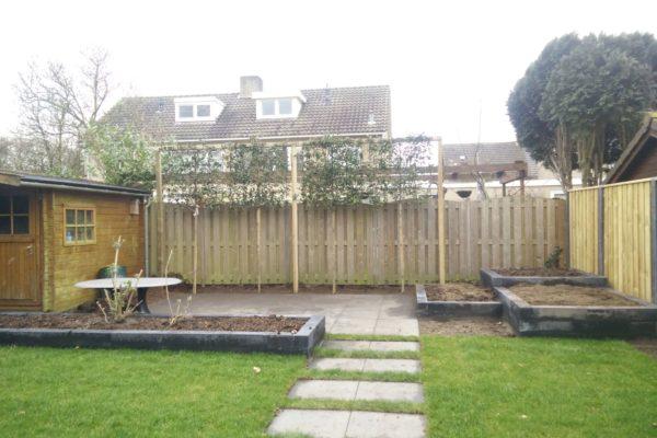 Moderne achtertuin Geldrop